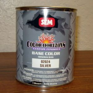 32 oz SEM Silver Concentrate  -  Solvent Color Coat