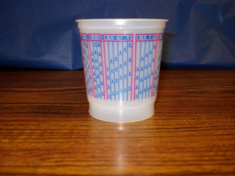 Scale Mixing Cups