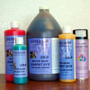 Aerosol Water Base Carpet Dye