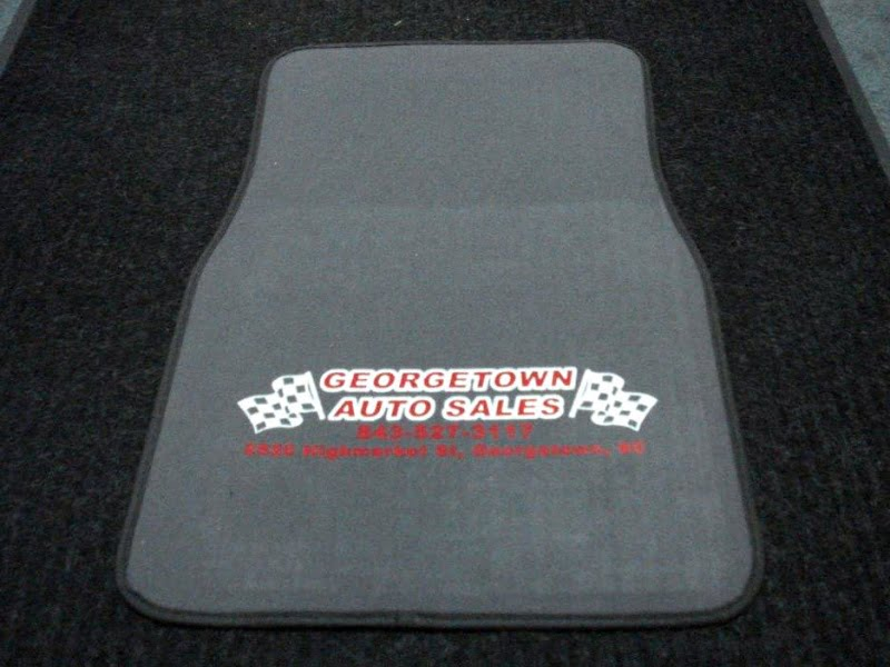 2 Piece Carpet Floor Mats w/logo