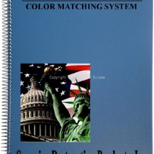 Water Base Color Matching Formula Book