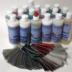 150 WATER BASE AUTOMATCHED COLORING KIT with COLOR SWATCHES