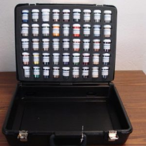 Velour Flock Carrying Case Kit (45 colors included)