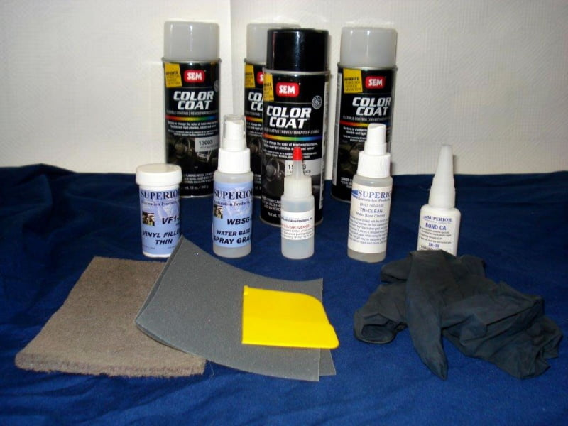 Do It Yourself Vinyl Repair Kit For Cat Scratches And Flaking Vrk R Superior Restoration