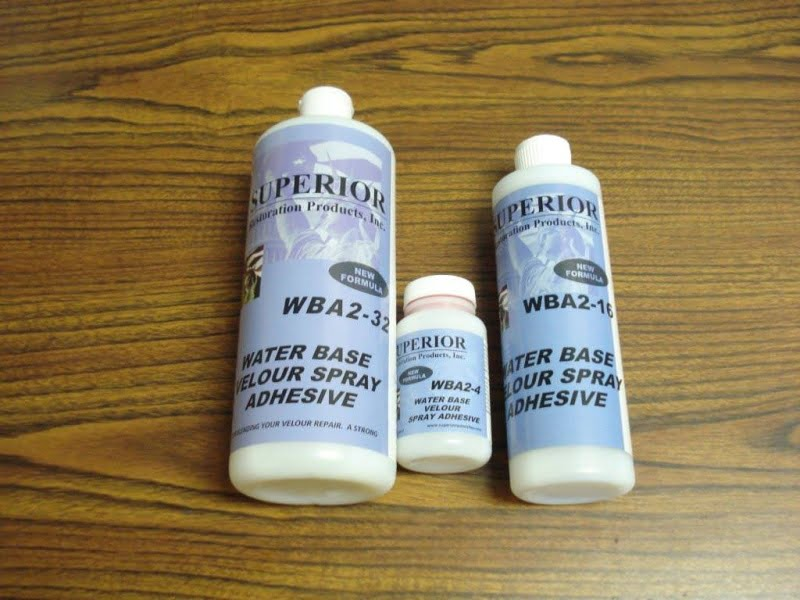 16 oz Water Base Velour  Spray Adhesive