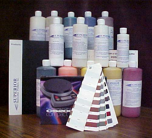 COMPLETE Water Base Toner Coloring Kit - 16 ounce