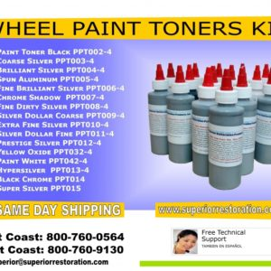 Wheel Refinishing Paint Kit