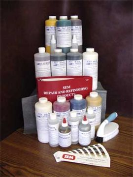 COMPLETE Carpet Dye Color Matching Kit with Formulas - 32 ounce