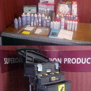 COMPLETE Vinyl Repair Kit & Water Base Pigment Color Matching Kit  w/ formulas & NEW COLOR SWATCHES