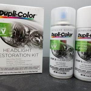 Dupli-Color Headlight Restoration Kit