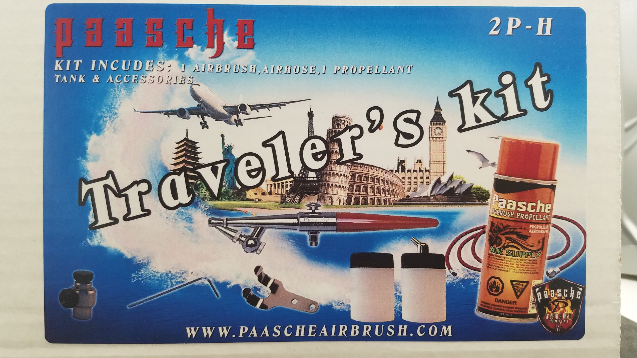 Paasche Complete Airbrush Kit